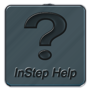 instep software help button