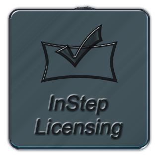instep software licensing button