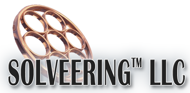 solveering llc logo and homelink